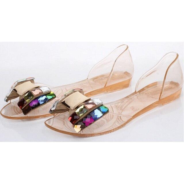 4072ca2052c Bowtie Belle Sandales D été Femmes De Chaussures Bling Mode Peep Toe  EDW2bH9eIY