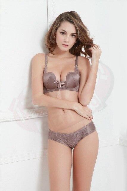cdcdf786b5b Free shipping sexy lingerie 1 2 Cup bra gather adjustable push up Furu  gatherunderwear bra
