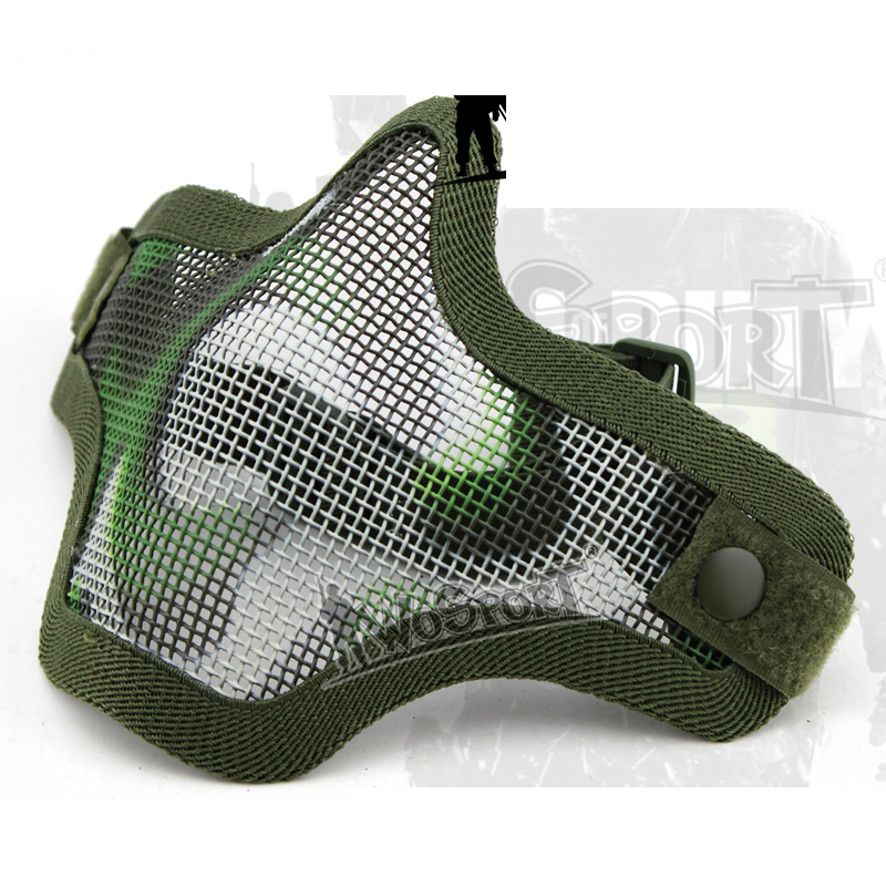AR 15 Accessories Airsoft Tactical Paintball Masks Hunting Protective V1 Half Face Single-band Scouts Mask For Shooting
