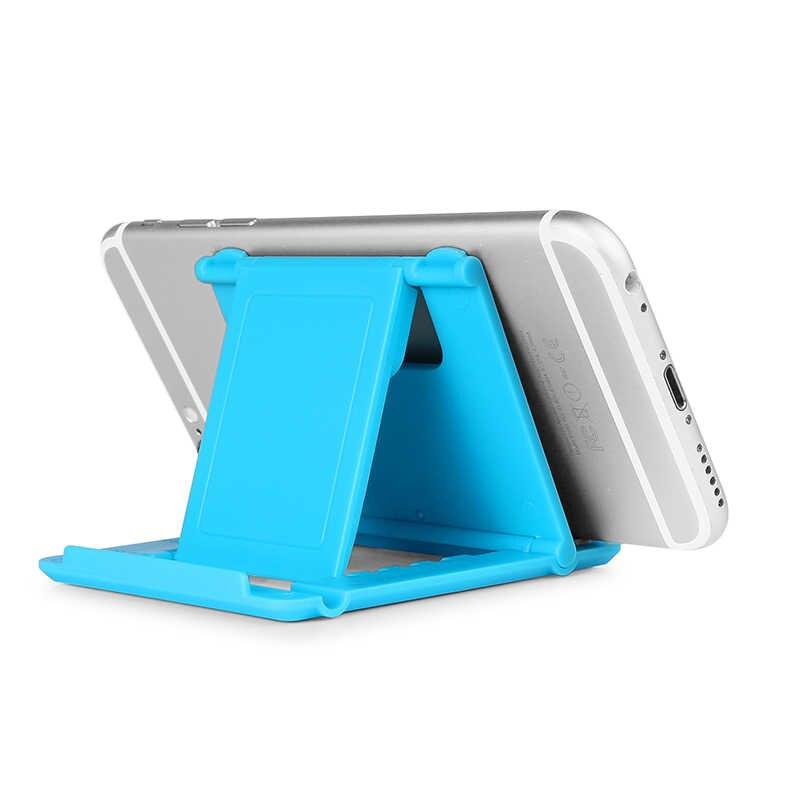 8b53d17394 ... Phone Stand Desk Holder Universal Adjustable Cell Phone Mini Holder  Foldable Smartphone Phone Bracket for iPhone ...
