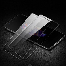 2pcs lot Tempered Glass For One Plus 5T Toughened Protective Film 9H Screen Protector case cover on smartphone oneplus5T