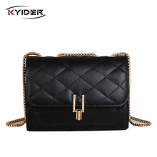 KYIDER Luxury Handbag Women Bag Designer Brand Chain Crossbody Bags for 2018 Fashion Shoulder Messenger Small Bolsa