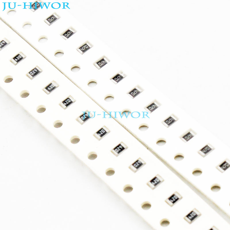 (1000pcs/lot) <font><b>43</b></font> 47 51 56 62 <font><b>ohms</b></font> 0805 5% SMD Chip <font><b>Resistor</b></font> Thick Film 1/<font><b>10W</b></font> Chip Fixed <font><b>Resistor</b></font> image