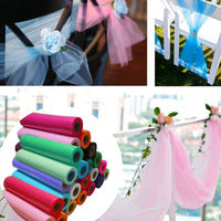 Promotion 12 X10yd Romantic Tulle Roll Spool Tutu Wedding Party Gift Bow Craft Vivid Decor Free