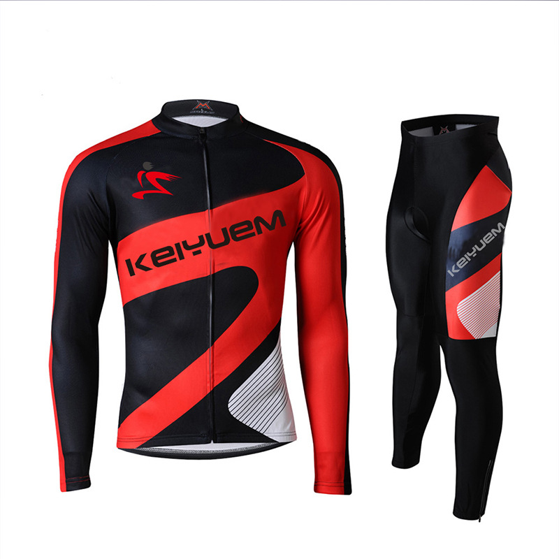 Warm 2016 Pro Winter Thermal Fleece Cycling Jersey Set Ropa Ciclismo Mtb Long Sleeve Men Bike Wear Clothing Maillot 2016 fluor pro team sky cycling long jersey winter thermal fleece long bike clothing mtb ropa ciclismo bicycling maillot culotte