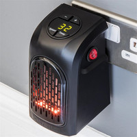 Free Shipping Convenient Heater Electric Handy Heater US Plug 110V EU Plug 220V 350W Home Office