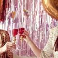 2016 Новый Бахрома Двери Дождь Шторы Партия Рождество Свадьба Photo Booth Реквизит Брак Сбора Фон Украшения