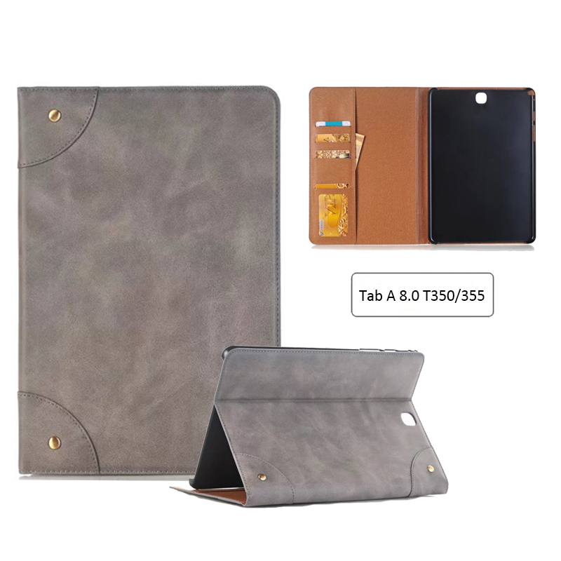 T350 T355 PU Leather Smart Case For Samsung Galaxy Tab A 8.0 SM-T350 SM-T355 SM-P350 P355 8