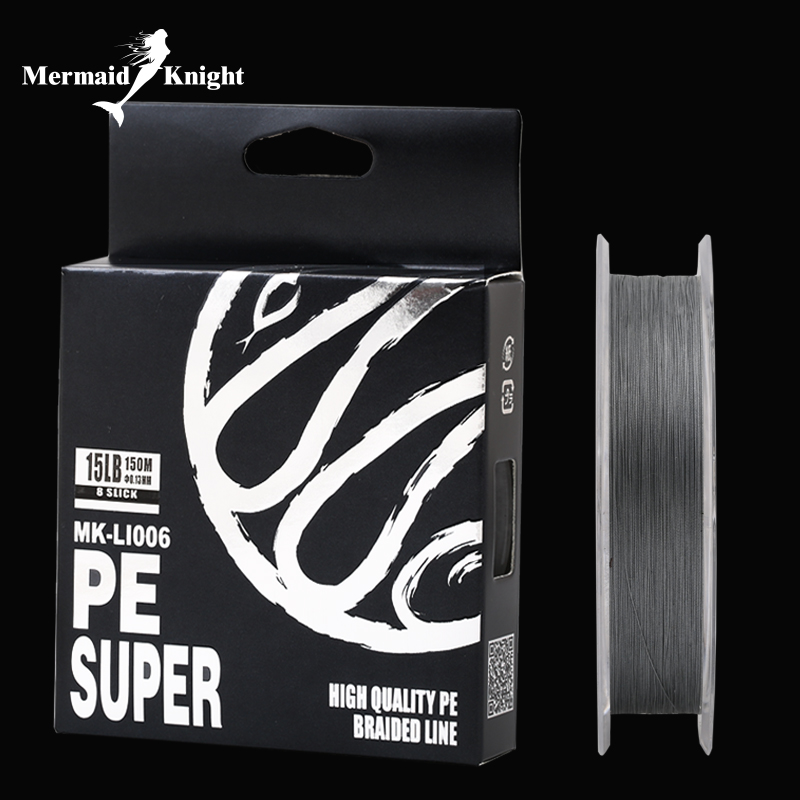 4 Braided Fishing Line - Length:150m/165yds, Diameter:0.1mm-0.4mm,size:6-60lb Tackle, pike, carp, perch. MK store