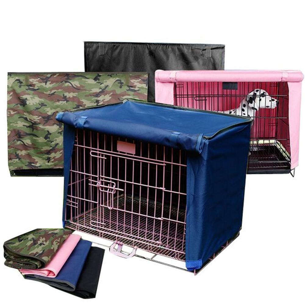 Dog crib for sale philippines - Polyester Waterproof Pet Dog Crate Cover 4 Sizes Breathable Kennel Cover For Wire Crate Dogs Cage