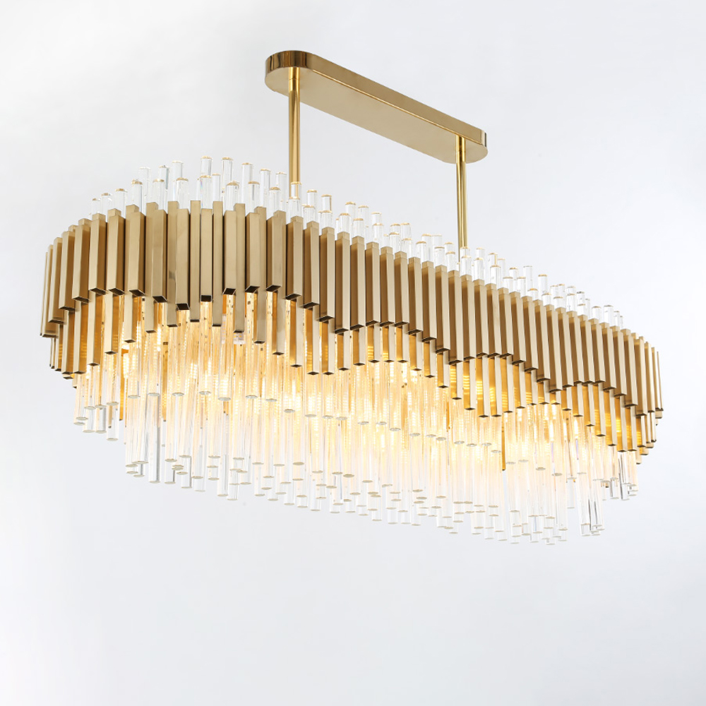 luxury design modern crystal lighting chandelier LED lamp Ac110 220v lustre cristal dinning room living room lamp
