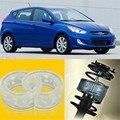 2 шт. супер мощный передний амортизатор катушки пружинная Подушка буфер для Hyundai Accent