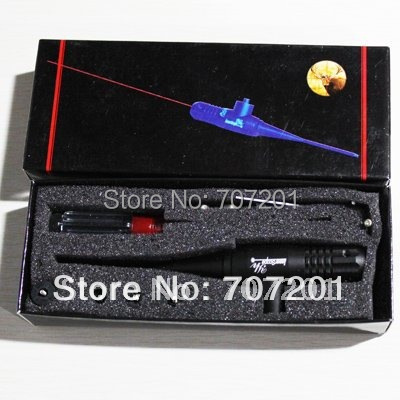 HOT ! ! Boresighter Red laser bore sighter Laser Scope .22-.50 caliber rifle free shipping