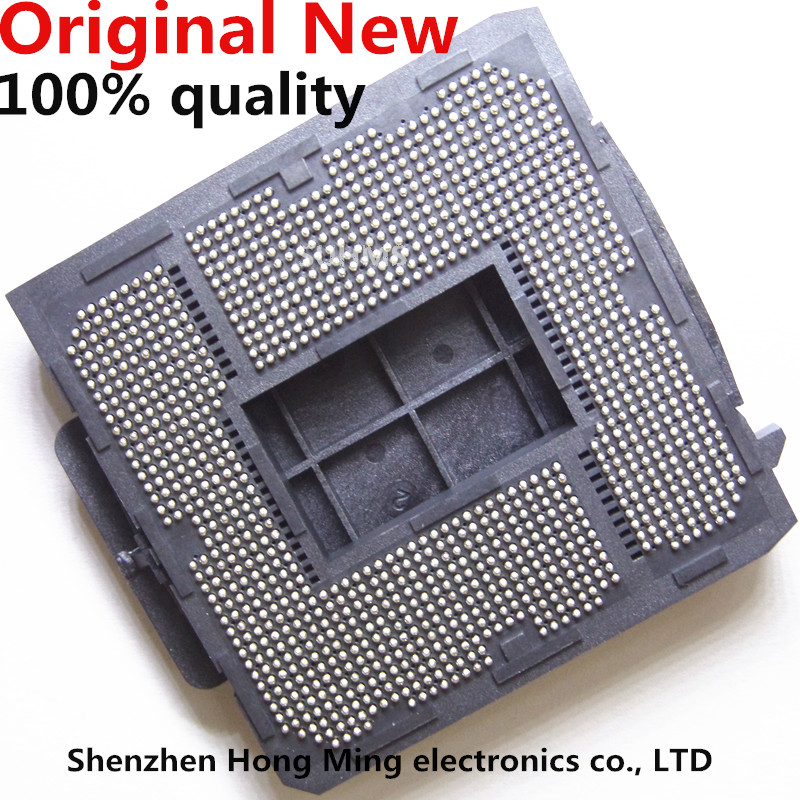 100% New LGA2066 LGA2011 LGA2011-3 LGA1366 LGA1567 LGA771 LGA775 CPU Base Socket PC BGA Base Good Works