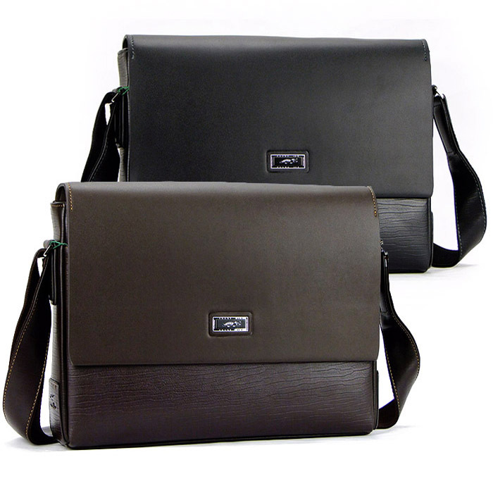 Aliexpress.com : Buy Faux PU leather laptop shoulder bag messenger ...