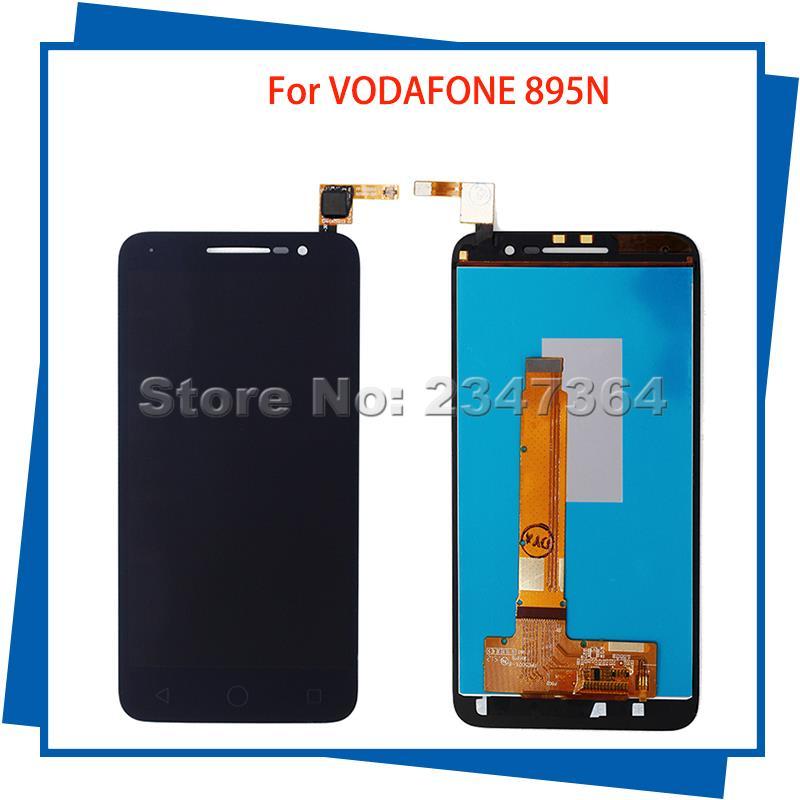 Para VODAFONE 895 VF895 895N VF-895 Negro Pantalla LCD Táctil de Color Negro Tel