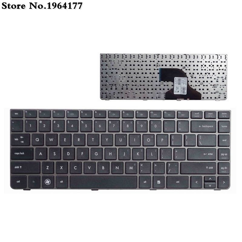 US For HP Probook 4330s 4430s 4431S 4435 4436 Laptop Keyboards Silver Frame New English