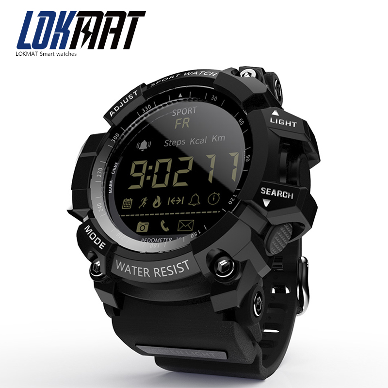 LOKMAT 2018 NEW Russia Sport Smart Watch IP68 Pedometer ...