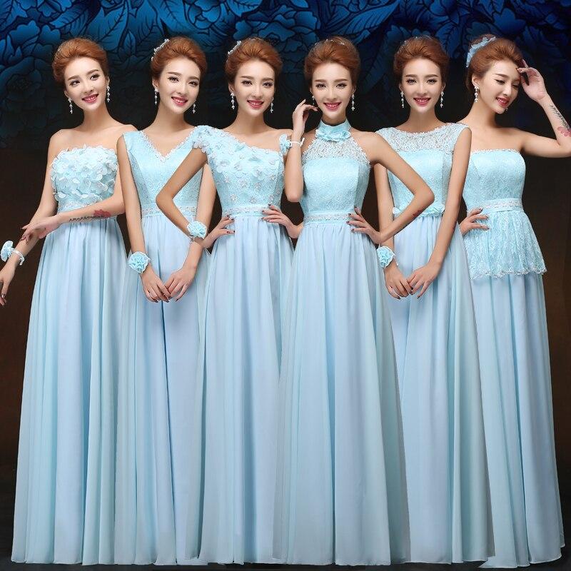 2017 New Bridesmaid Dresses Plus Size Stock Cheap Under 50 Chiffon