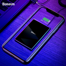 Baseus 15W Qi Wireless Charger For iPhone 11 Pro Xs Max X Ultra Slim Fast Wirless Wireless Charging Pad For Samsung S10 S9