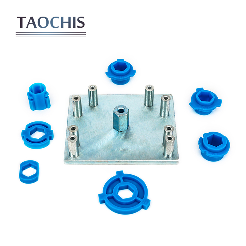 Taochis Head lamp position Plate modify tool Mode H1 H4 H7 H11 9005 9006 D2R For Q5 Hella Projector lens Head Light modification