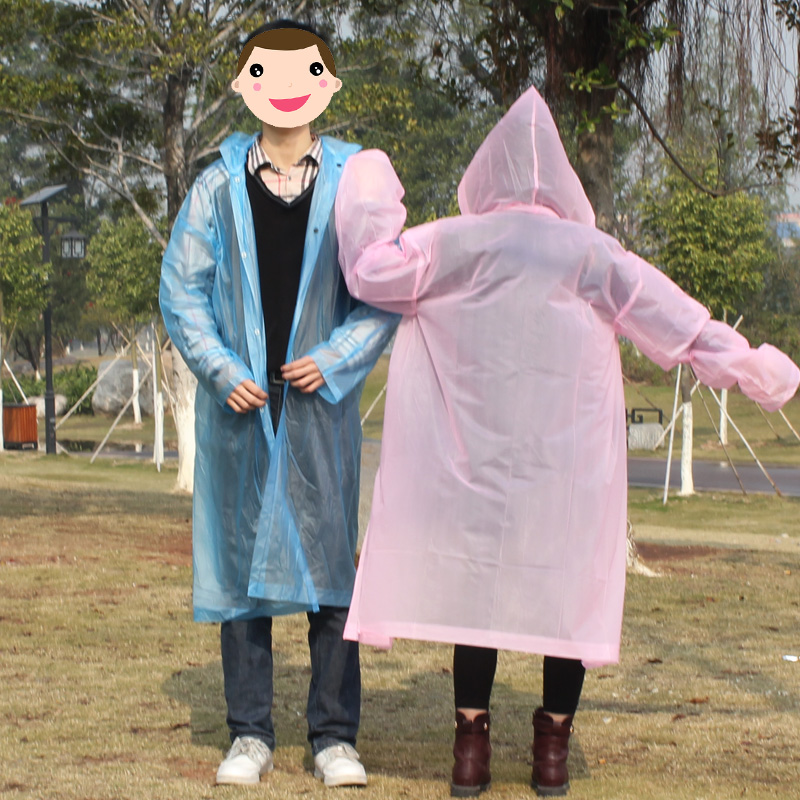 Transparent Hiking Raincoat Waterproof Light Women Veste Pluie Femme Manteau De Pluie Regenmantel Hooede Raincoat Women QQG539