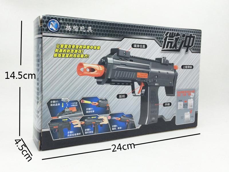 kid's Nerf Air Soft Gun Paintball Pistol & Bullet Plastic Toy CS Game Shooting Water Crystal Airgun summer fun toy - freedom dream utopia store