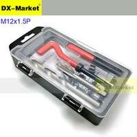 m12*1.5p Fine thread repair kit Engine thread repair tool set