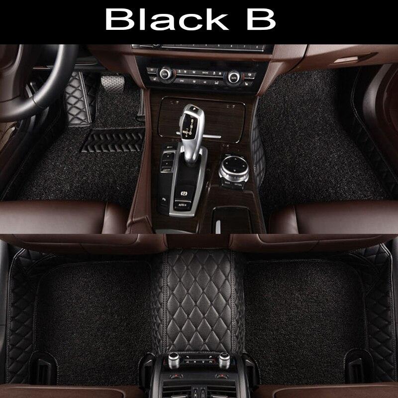 Tapis de sol de voiture pour Subaru Forester Outback Tribeca XV 5D revêtement de sol de tapis résistant à tous les temps