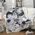 Аниме Жемчуг дракона  плюшевое одеяло  модные одеяла  украшение  покрывало  повседневное Флисовое одеяло для взрослых