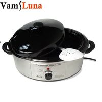 6L Hot Stone Professional Massage Heater Warmer With Analog Control Heating Spa Salon Rock Device