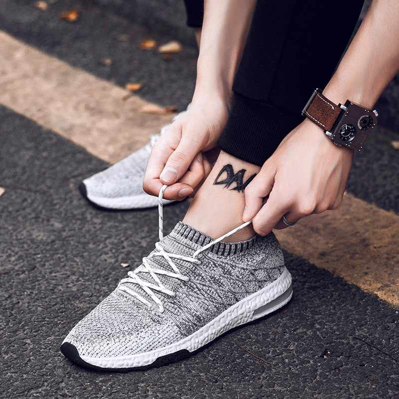 2019 модная обувь воздухопроницаемые кроссовки для мужчин повседневная мужская обувь удобные Тренеры Chaussures кроссовки Ho мужские s Новые