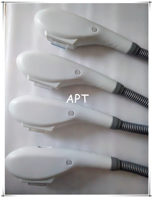 Model FH01  fixed wavelength ipl handpiece with Unique design