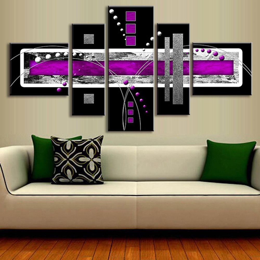 Purple And Grey Wall Art popular grey canvas-buy cheap grey canvas lots from china grey