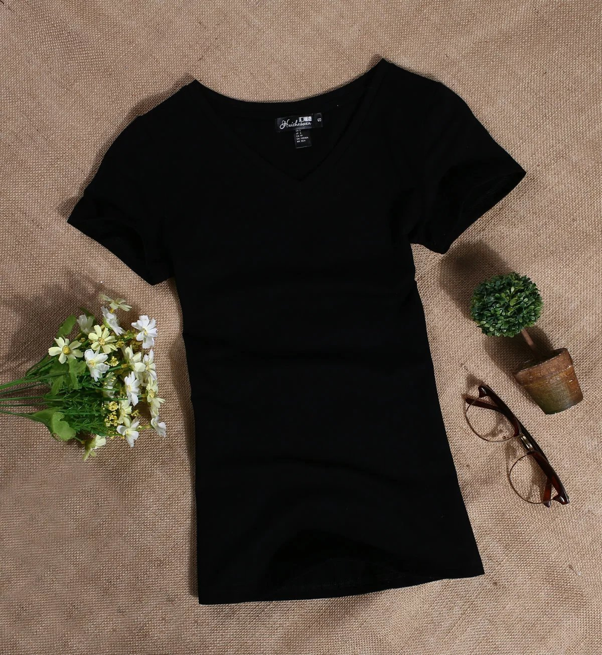 MRMT 2020 Women's T Shirt Women Short Sleeved Slim Solid Color Womens Simple Tee T-Shirt For Female Tshirt 2