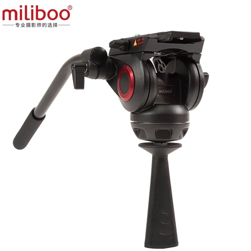 Miliboo MYT802 trépied professionnel rotule/trépied accessoires qui est plaque de dégagement rapide pour Nikon Canon caméra trépied curseur