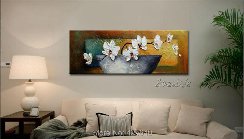Золотые художественные картины акриловые абстрактные цветы текстура quadro caudro decoracion настенные художественные картины для гостиной домашний... - 4