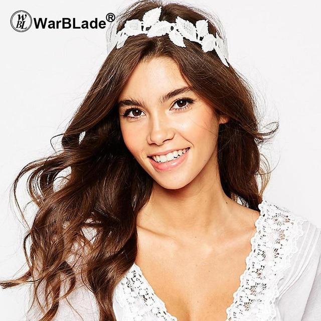 Aliexpress Com Buy Hair Band Women Headband Fashion Lace Elastic