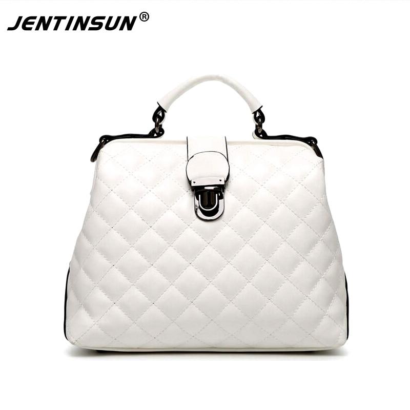 European and American Style Women Handbags Large Capacity Diamond Lattice chain Bags PU Leather Ladies Classic Shoulder Bags