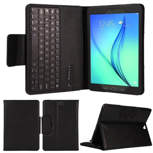 NEW HOT Selling Bluetooth Keyboard PU Leather Case Stand For Samsung Galaxy Tab A 9.7 T550