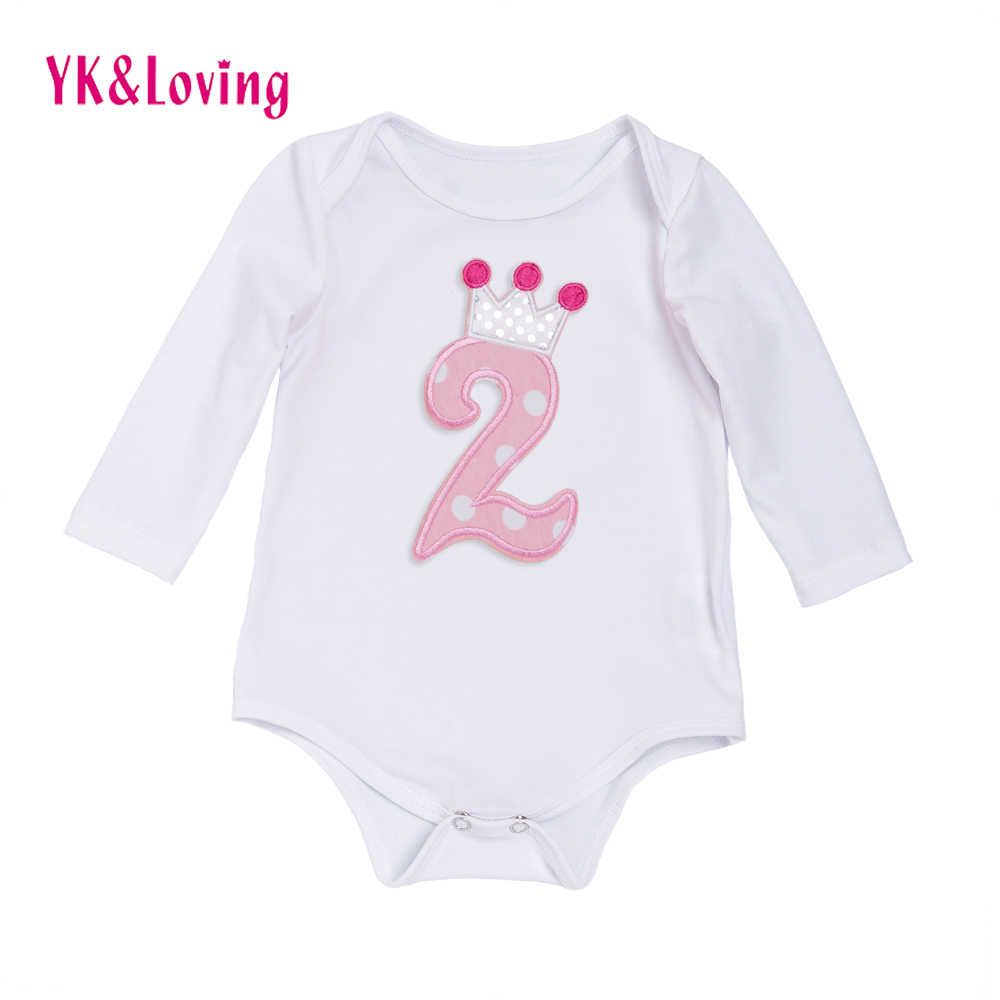 Newborn Baby Boy Girl Clothes Long Sleeve 1st Birthday Baby Rompers Spring Autumn Baby Clothing 1Pc Baby Product  Jumpsuits strip baby rompers long sleeve baby boy clothing jumpsuits children autumn clothing set newborn baby clothes cotton baby rompers