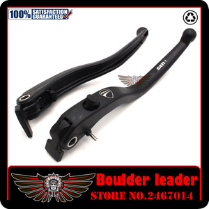Image 4 - Black Motorbike Motorcycle Left Right Brake Clutch Levers For DUCATI DIAVEL / CARBON MULTISTRADA 1200/S