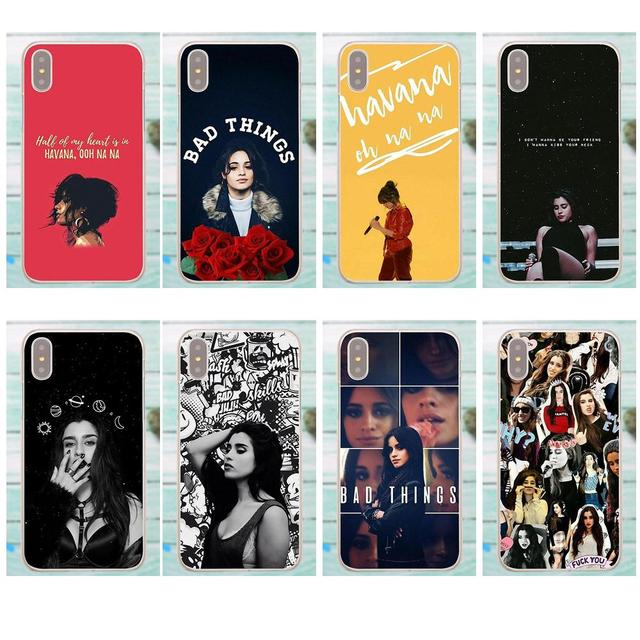 b9a61d40c09 Kmuysl For Apple iPhone X 4 4S 5 5C SE 6 6S 7 8 Plus For LG G3 G4 G5 G6 K4  K7 K8 K10 V10 V20 Soft TPU Coque Camila Cabello