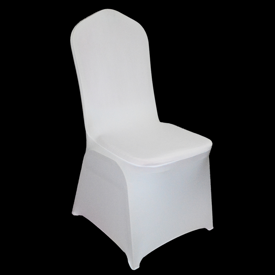 wedding chair covers alibaba cross back germany us ru send 100 pcs white spandex party for weddings universal ...