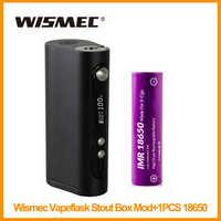 Original Wismec Vaporflask Stout TC Box Mod Or Wismec VaporFlask Classic 150W TC Mod TC/VW Mode VS iStick TC 200W E-Cigarette