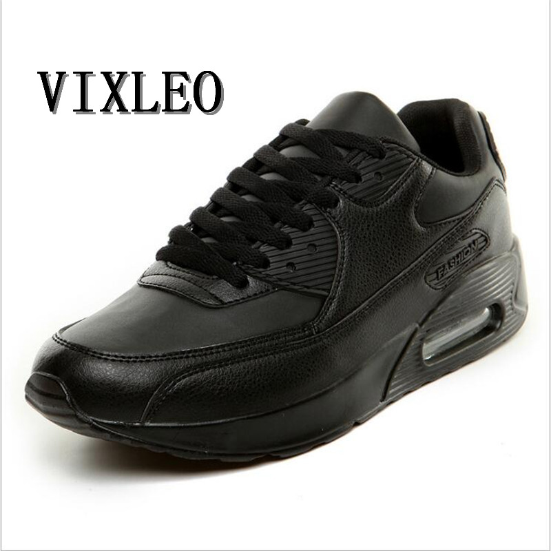 VIXLEO 2018 Unisex Running Shoes Breathable Air Mesh Lace-up Sport Shoes Outdoor Cushion Shoes Maxings 90 Sneakers Shoes 36-45 ...