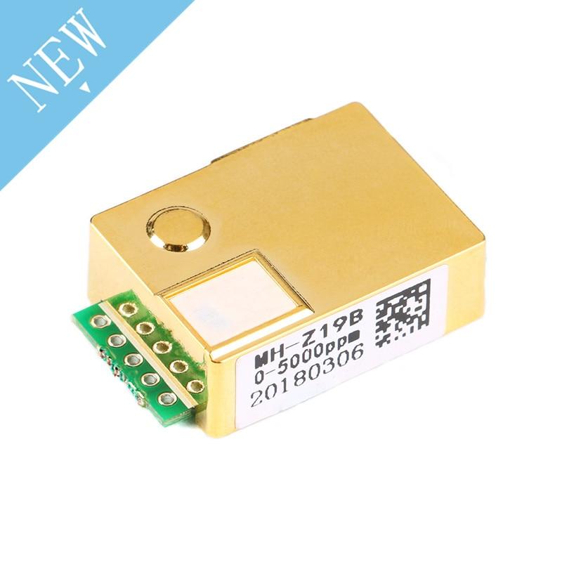 High Quality MH-Z19 MH Z19 MH-Z19B 0-5000ppm CO2 Sensor Module Infrared Carbon Dioxide Co2 Gas Sensor