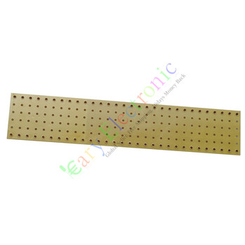 Wholesale and retail 20pc copper plated Gold Fiberglass Turret Terminal Strip 60pin Lug Tag Board DIY free shipping