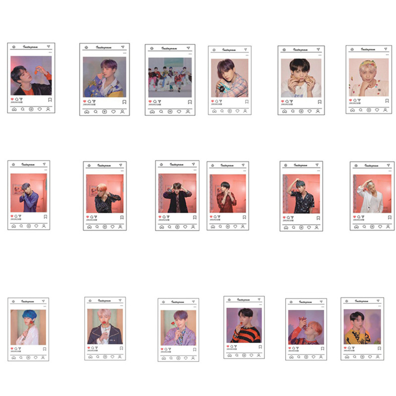 Twice Transparent Card What Is Love Kpop Bts Bangtan Boys Love Yourself Tear Album Paper Poster Photo Lomo Card Hf212 Costumes & Accessories