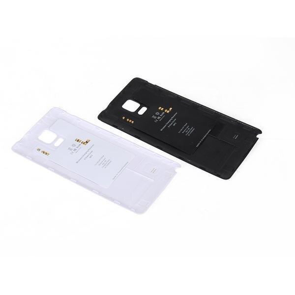 imágenes para Qi Carga Inalámbrica Receptor Caso con Cubierta de La Batería NFC para Samsung Galaxy Nota 4 N9100 Cargador Adaptador
